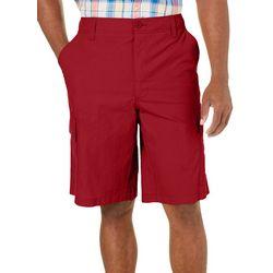 Boca Classics Mens Ripstop Solid Cargo Shorts