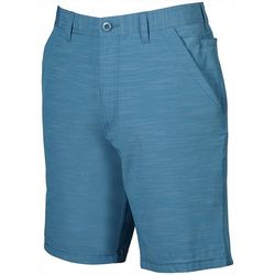 Weekender Mens Caicos Textured Flat Front Shorts