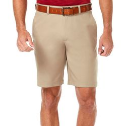 Haggar Mens Cool 18 Pro Flat Front Shorts