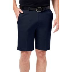 Haggar Mens Flat Front No Iron Shorts