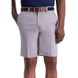 Haggar Mens Big & Tall Cool 18 Pro Oxford Shorts