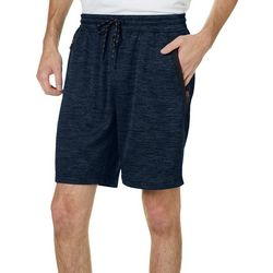 Burnside Mens Direction Fleece Heathered Shorts