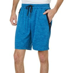Burnside Mens Energy Fleece Heathered Shorts