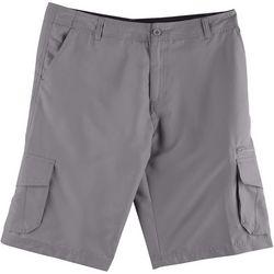 Burnside Mens Solid Hybrid Cargo Shorts