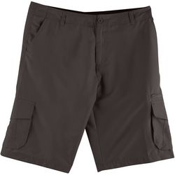 Burnside Mens Solid Hybrid Cargo Shorts