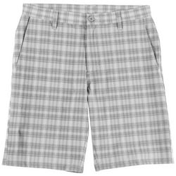 Burnside Mens Plaid Hybrid Shorts