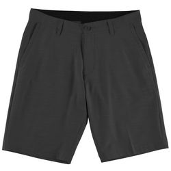 Burnside Mens Stripe Hybrid Shorts