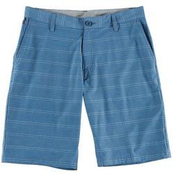Burnside Mens Tonal Stripe Hybrid Shorts