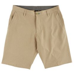 Burnside Mens Yarn Dye Hybrid Shorts