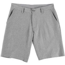 Burnside Mens Heathered Hybrid Shorts