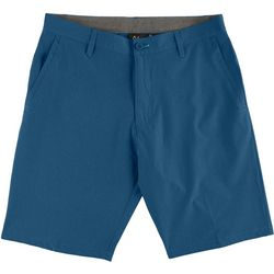Burnside Mens Solid Hybrid Shorts