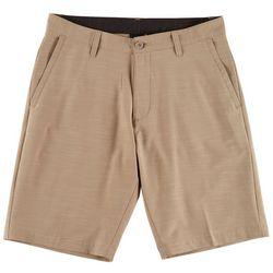 Burnside Mens Heather Hybrid Shorts