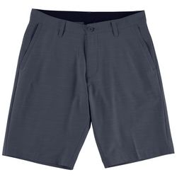 Burnside Mens Heather Hybrid Shorts