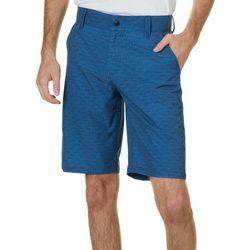 Distortion Mens Box Stitch Hybrid Shorts