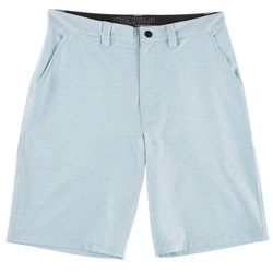 Distortion Mens Textured Hybrid Shorts