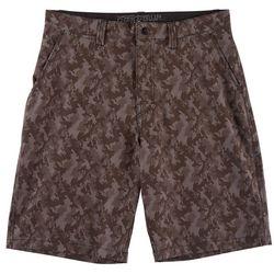 Distortion Mens Camo Hybrid Shorts