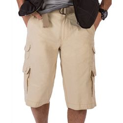 Wearfirst Mens Belted Cargo Shorts