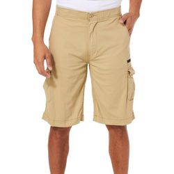 Wearfirst Mens Stretch Caution Ripstop Cargo Shorts