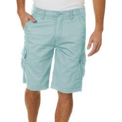 Wearfirst Mens Fine Fallie Comfort Waist Cargo Shorts
