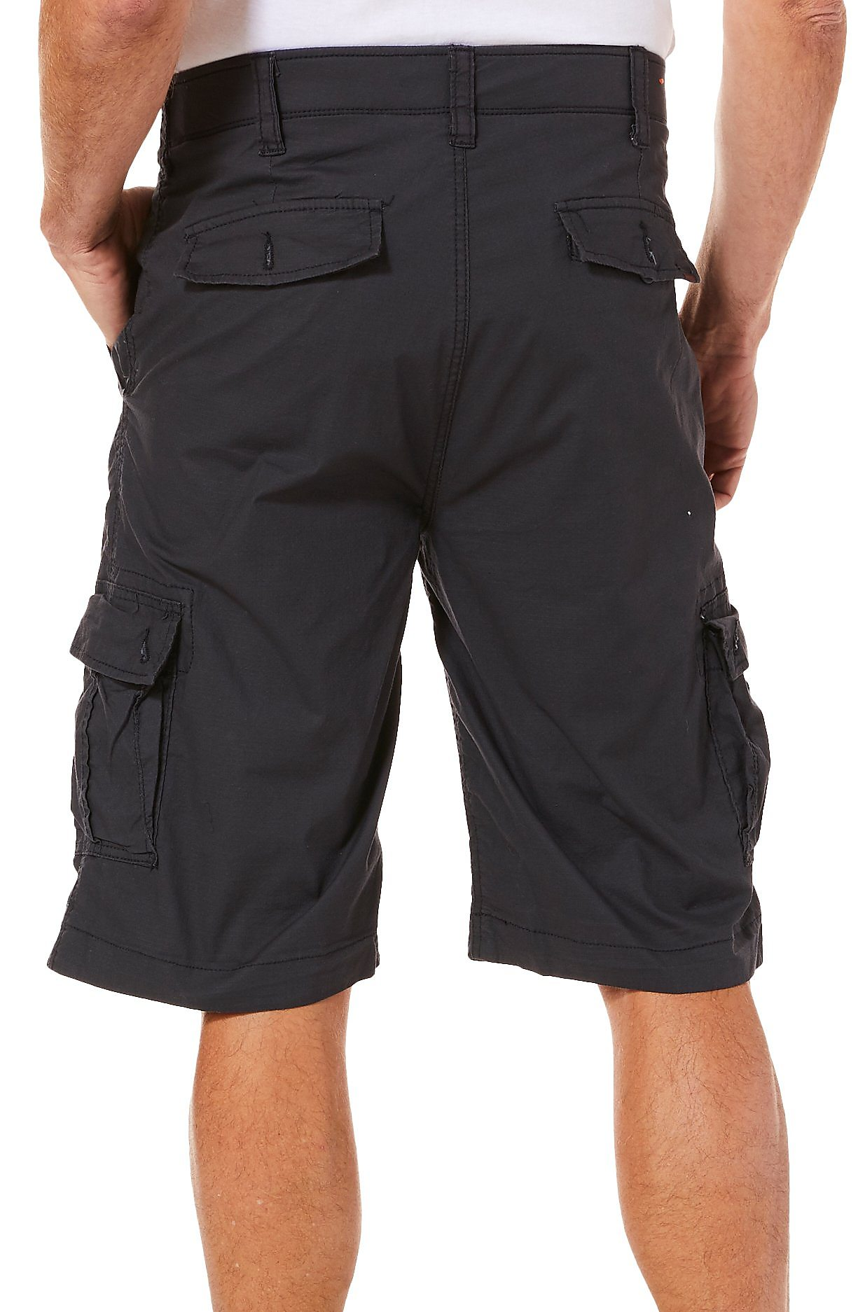 14a8d80f8d Wearfirst-Mens-Solid-Ripstop-Cargo-Shorts thumbnail 5