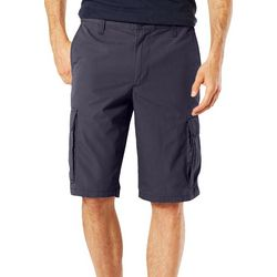 Dockers Mens Solid Stretch Cargo Shorts