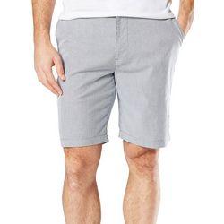 Dockers Mens Mini Stripe Perfect Shorts