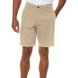 Dockers Mens Solid Flex Waist Shorts