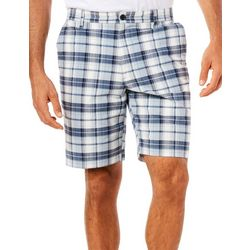 Dockers Mens Madras Plaid Perfect Shorts