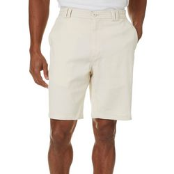 Boca Islandwear Mens Cotton Spandex Solid Shorts