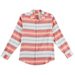 Boca Classics Islandwear Mens Horizontal Stripe Shirt