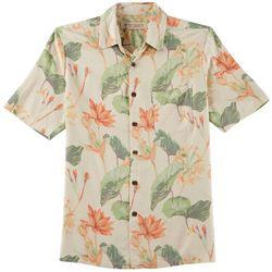 Boca Classics Islandwear Mens Tropical Garden Shirt