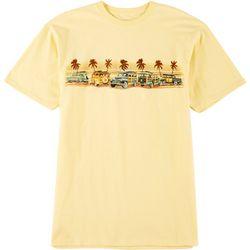 Boca Islandwear Mens Woodie Sun Short Sleeve T-Shirt