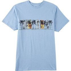 Boca Islandwear Mens Sunset Palm T-Shirt