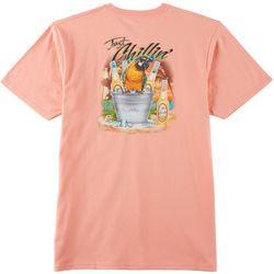 Boca Islandwear Mens Bucket Parrot Short Sleeve T-Shirt