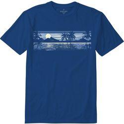 Paradise Shores Mens Aloha Luna T-Shirt