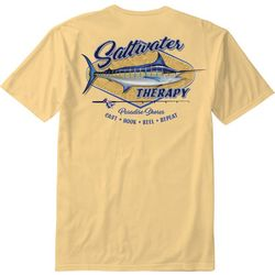 Paradise Shores Mens Saltwater Therapy T-Shirt