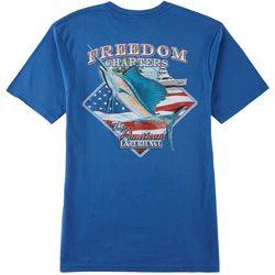 Boca Islandwear Mens Freedom Charter T-Shirt