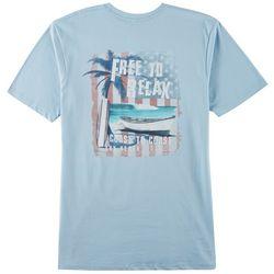 Boca Islandwear Mens Free To Relax T-Shirt