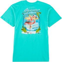 Boca Islandwear Mens Screaming Flamingo T-Shirt