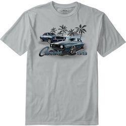 Boca Islandwear Mens Asphalt Beach T-Shirt