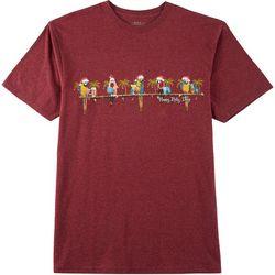 Boca Islandwear Mens Happy Polly-Days T-Shirt