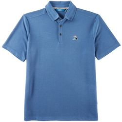 Boca Islandwear Mens Happy Hour Toucan Polo Shirt