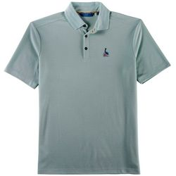 Boca Islandwear Mens Happy Hour Pelican Polo Shirt