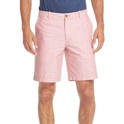 IZOD Mens Breeze Anchor Fit Oxford Shorts