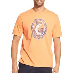 IZOD Mens Saltwater Freedom On The Coast T-Shirt