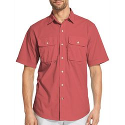 IZOD Mens Saltwater Surfcaster Button Down Shirt