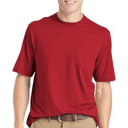 IZOD Mens Short Sleeve Solid Doubler T-Shirt