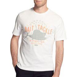 IZOD Mens Crescent Beach Bait & Tackle T-Shirt