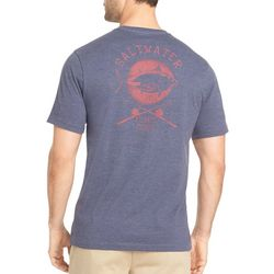IZOD Mens Atlantic Fishing Heather T-Shirt