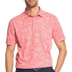 IZOD Mens Parrot Short Sleeve Polo Shirt